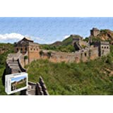500 Piece Jigsaw Puzzle - Man Made Great Wall of China Basswood Materials 20.6 X 15.1 Inch