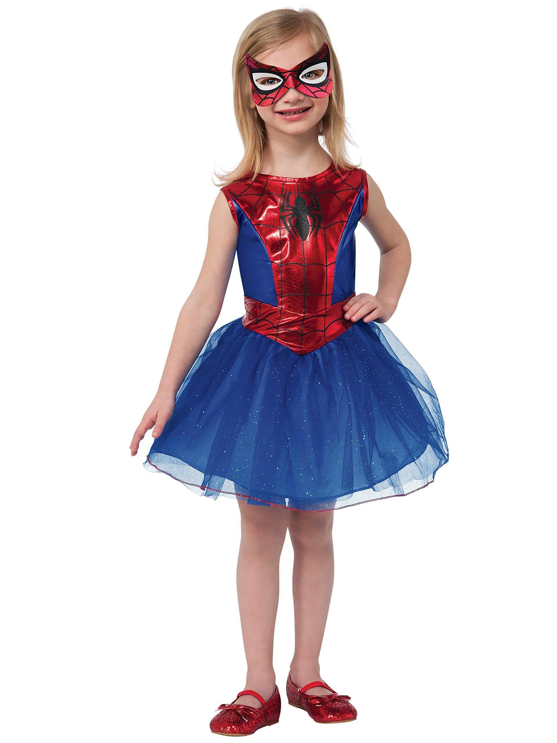- 813zIDhzHaL - Rubie's Marvel Universe Classic Collection Spider-Girl Costume