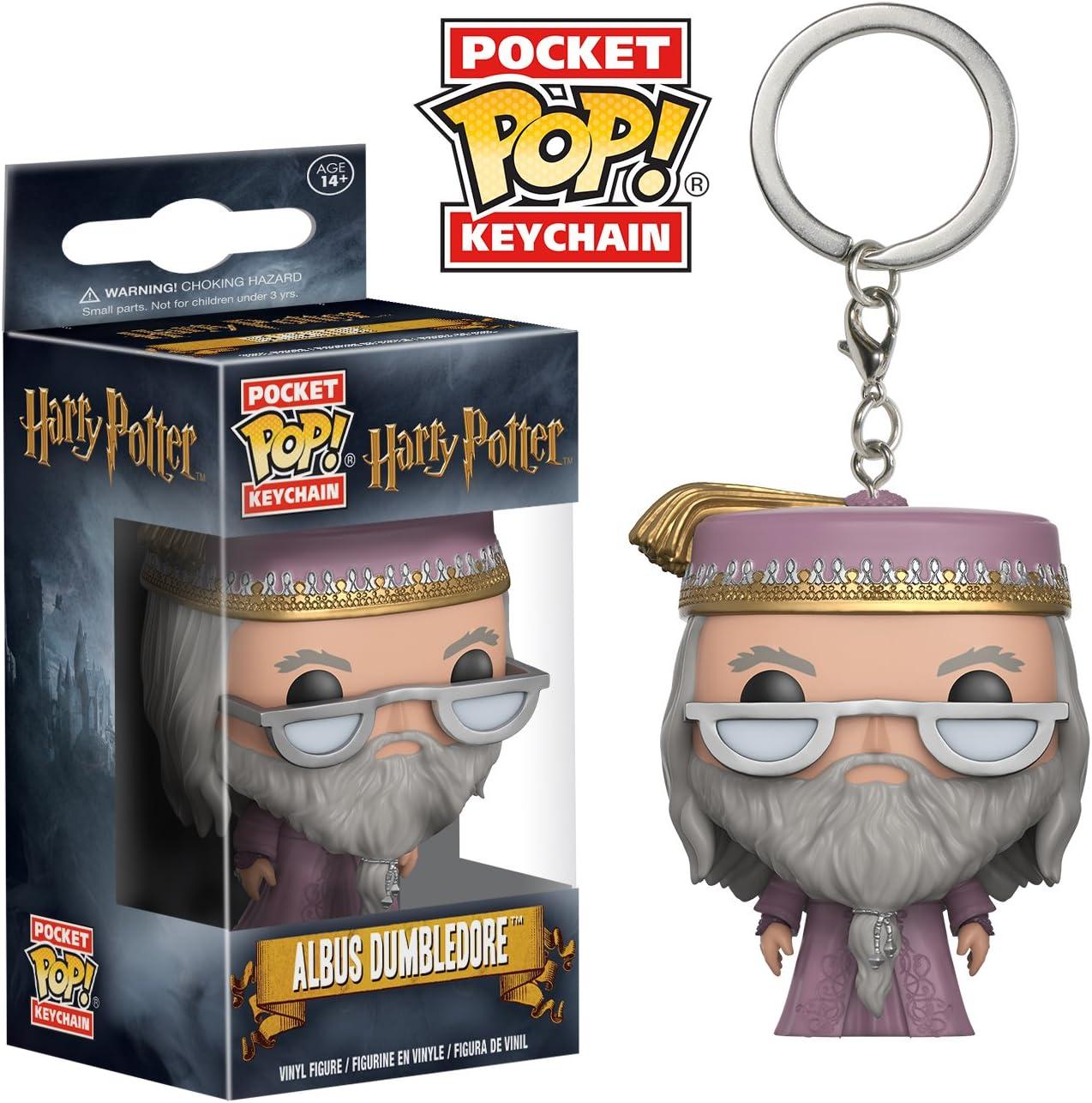 Funko- Harry Potter: Albus Dumbledore Llavero Fugurina de ...