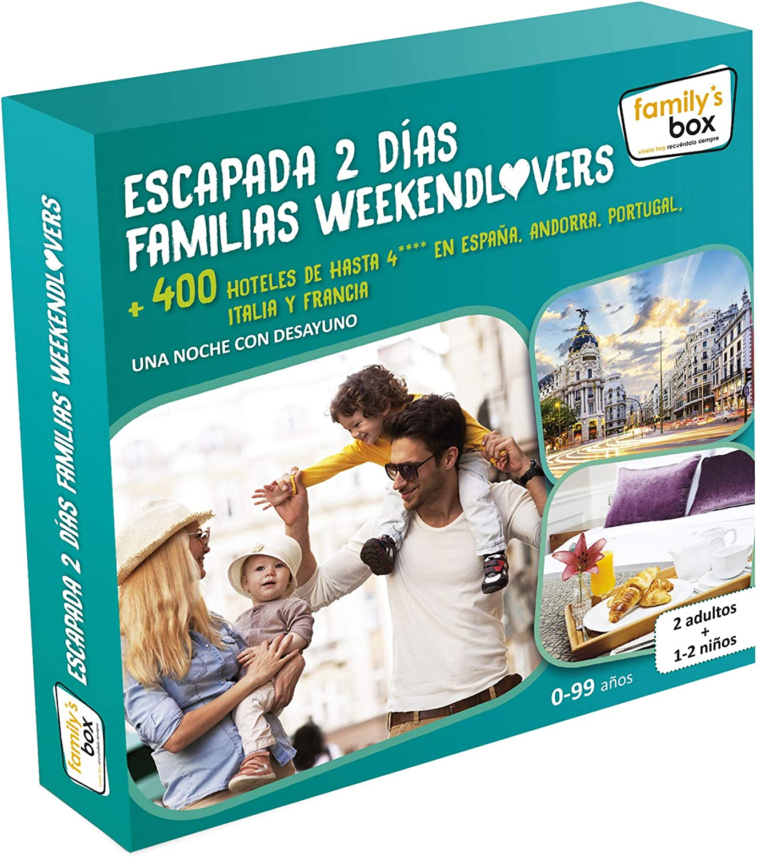 family box escapada 2 dias familias weekendlovers