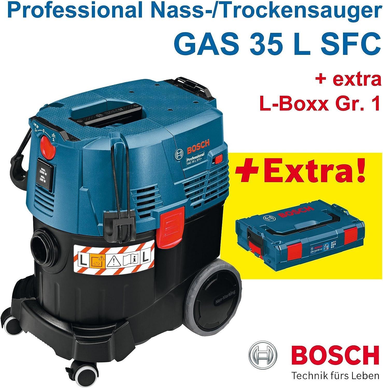 Bosch GAS 35 L SFC+ - Aspiradora en seco y húmedo profesional (con ...