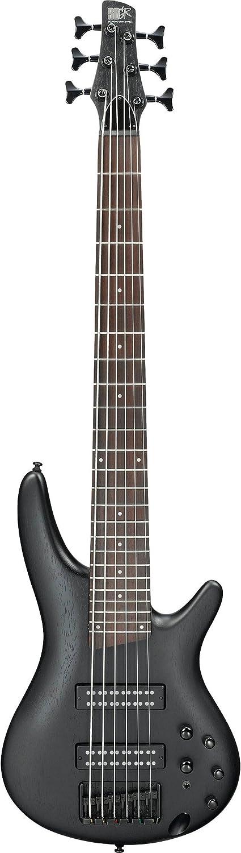 Ibanez SR306EB 6-String Electric Bass Guitar Weathered Black