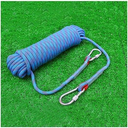 Cuerda de escalada al aire libre 30 m rapel rescate cuerda de ...