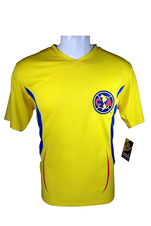 huge selection of 49114 5b64e Amazon.com : Club America Soccer Official Adult Soccer ...