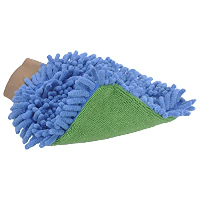GroomTex Pet Microfiber 2 Weaves Bathing Mitt 7 X 9in: Pet Supplies