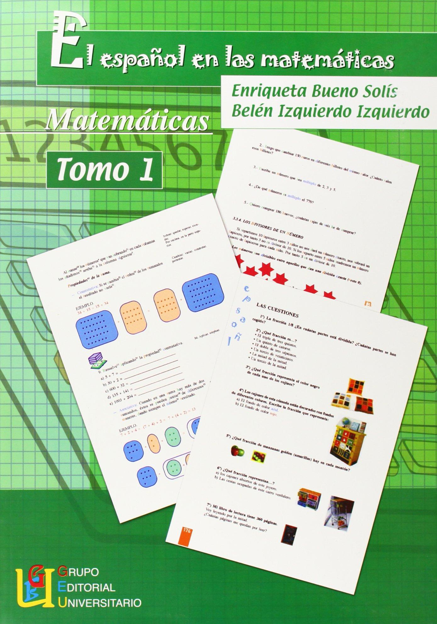 Español en las matematicas, el I Español Lengua Extranjera ...