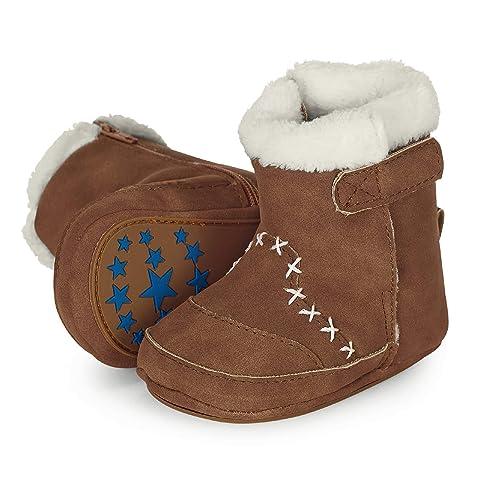 online store cf371 7ae85 Sterntaler Mädchen Baby Stiefel mit Reißverschluss, Farbe: Geranie, Größe:  17/18, Alter: 6-9 Monate, Artikel-Nr.: 5301503