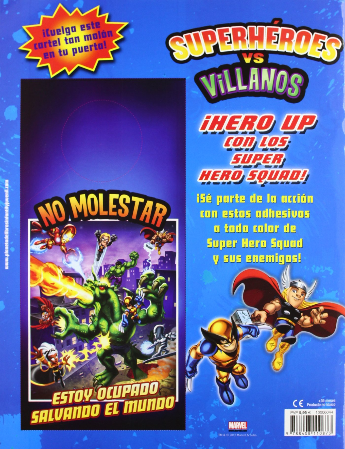 Super Hero Squad. Superhéroes vs. villanos: Super Hero Squad ...