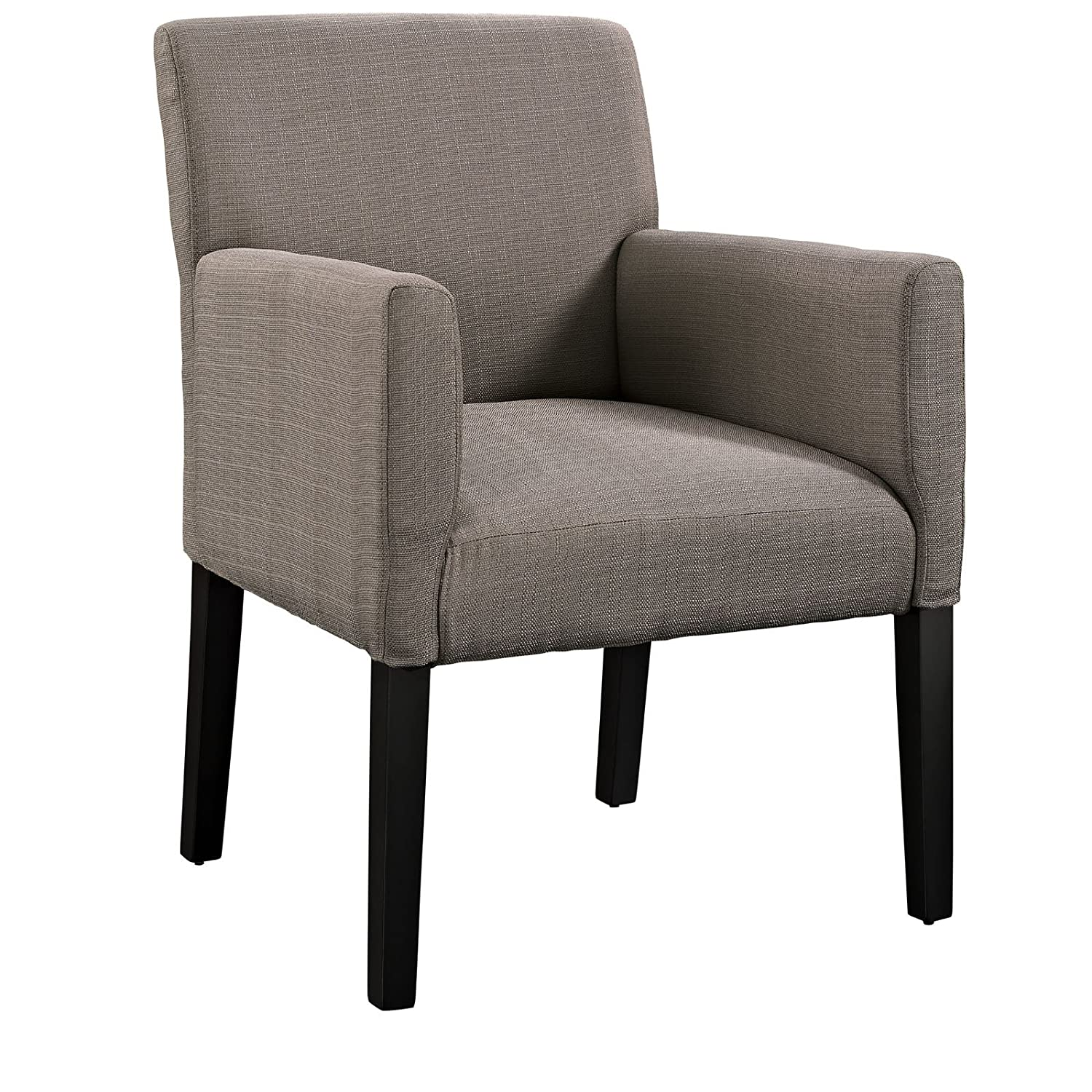 Good Amazon.com: Modway Chloe Fabric Upholstered Armchair In Gray: Kitchen U0026  Dining