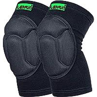 Lepfun S9000 Genouillère de compression, soutien optimal du genou, pour hommes et femmes (Small/Medium, S9000 Black)