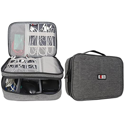37 opinioni per BUBM Doppi strati Gadget Organizzatore di Viaggi Case, Elettronica Accessori