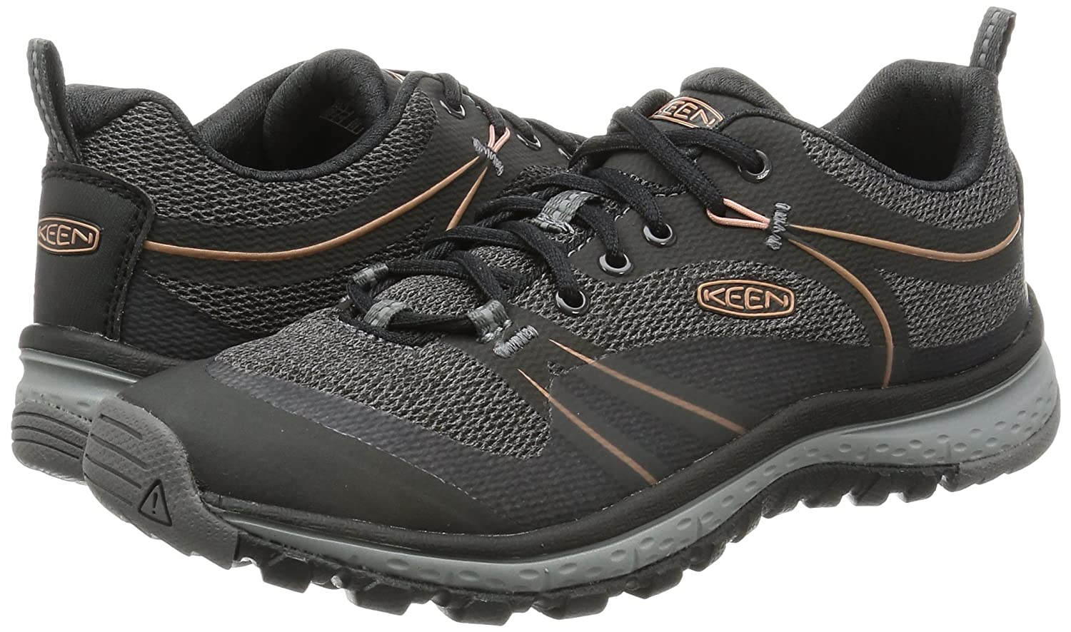 KEEN Women's Terradora Hiking Shoe B01H8GBUSY 7.5 B(M) US|Raven/Rose Dawn