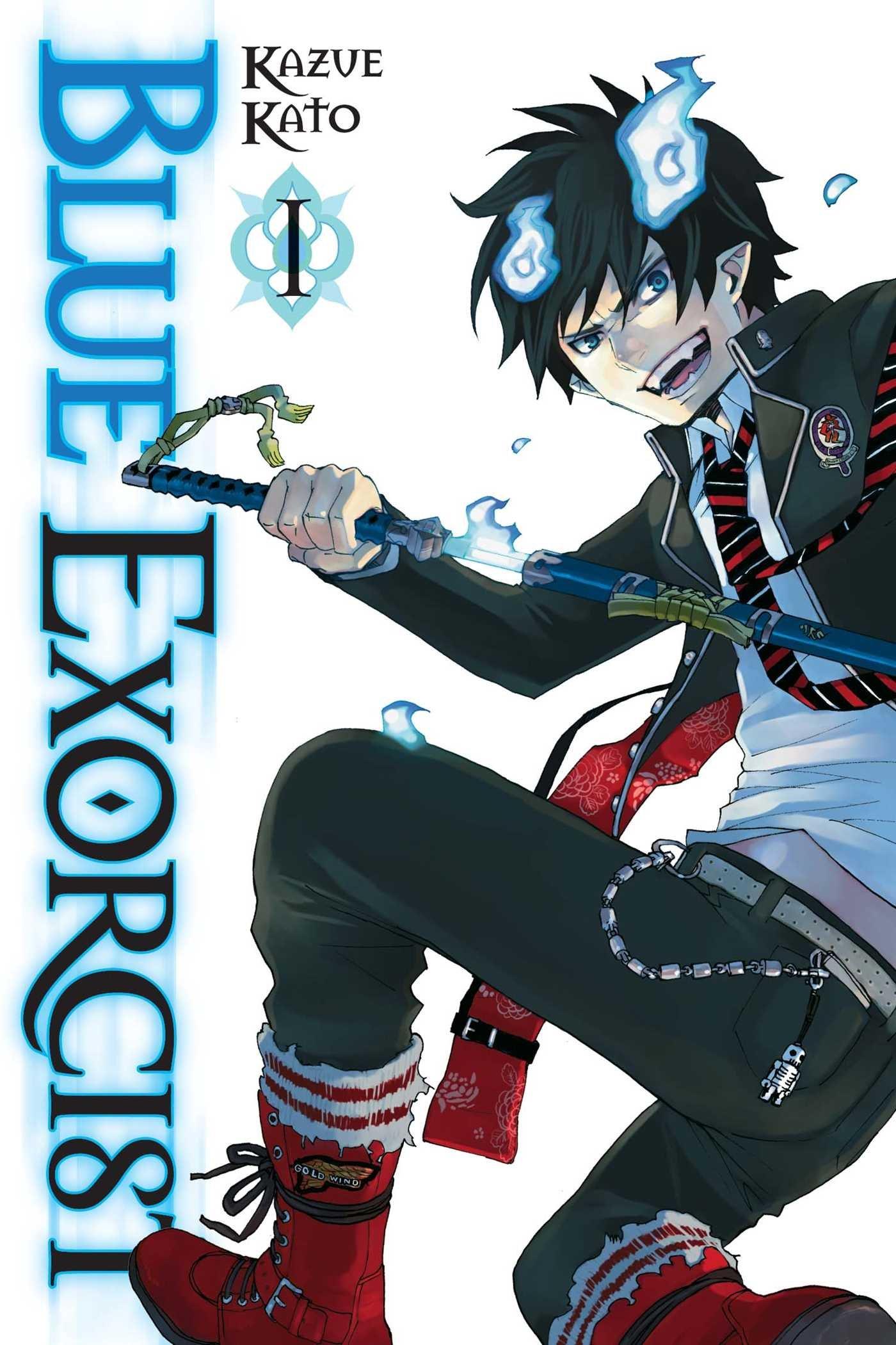 blue exorcist vol 1 kazue kato 9781421540320 amazon com books