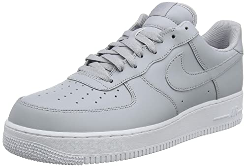 new concept 73179 2d39c Nike Men s Air Force 1 07 Low-Top Sneakers, Grey (Wolf Grey
