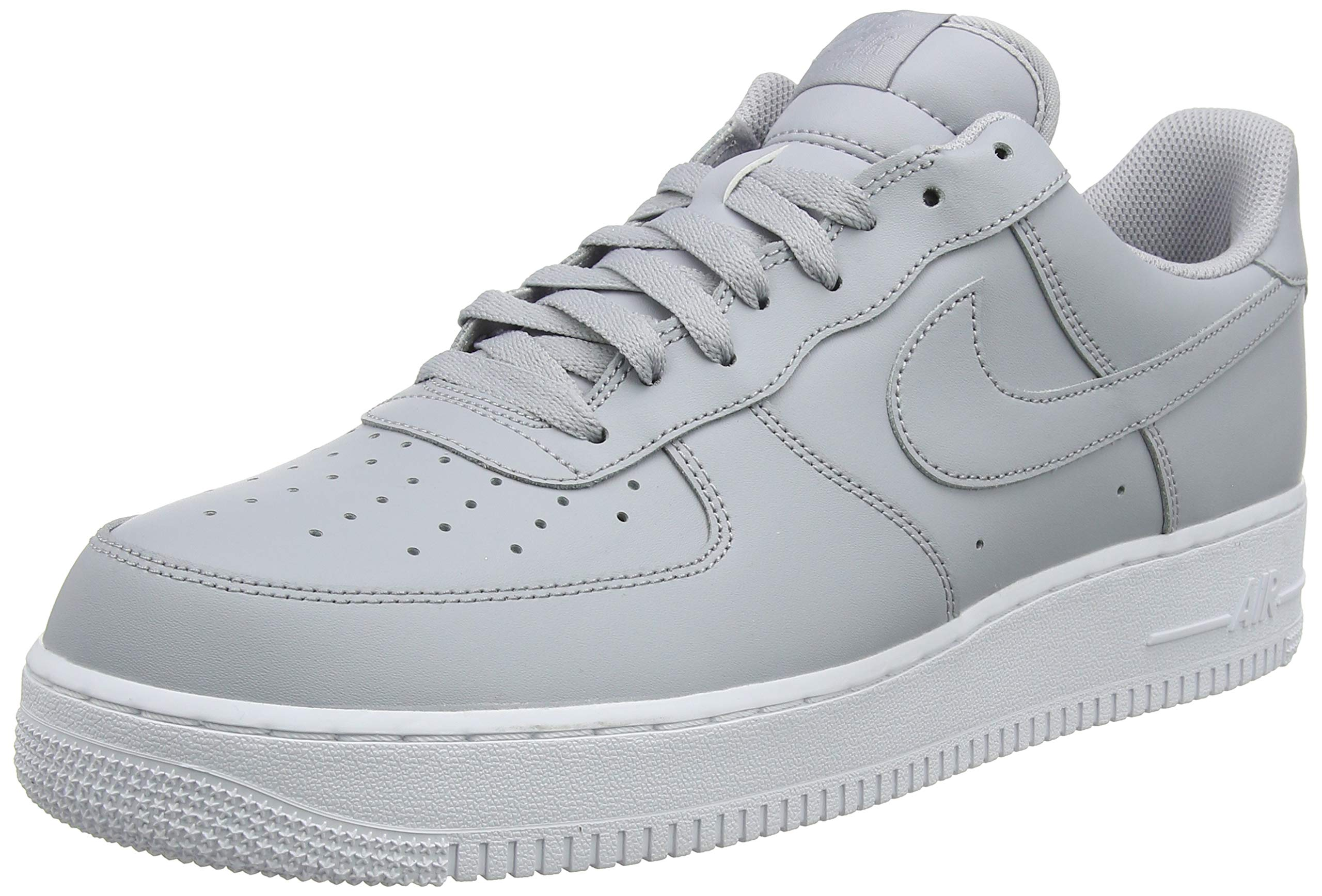 more photos c1f90 bb304 Galleon - Nike Mens Air Force 1 Low 07 Basketball Shoes Wolf Grey White  AA4083-010 Size 12