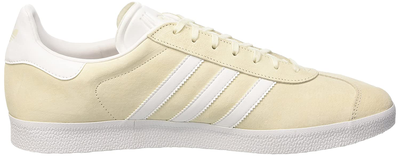 adidas Gazelle, Baskets Basses Mixte Adulte, Blanc (Off White/White/Gold Met),  49 1/3 EU: Amazon.fr: Chaussures et Sacs