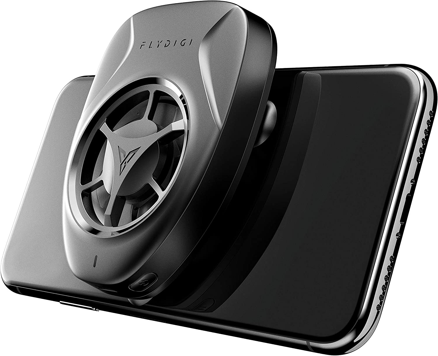 Bounabay Mini Cooling Fan for iOS and Android Phone Ultra Silent Mobile Gaming Dissipate Cooler