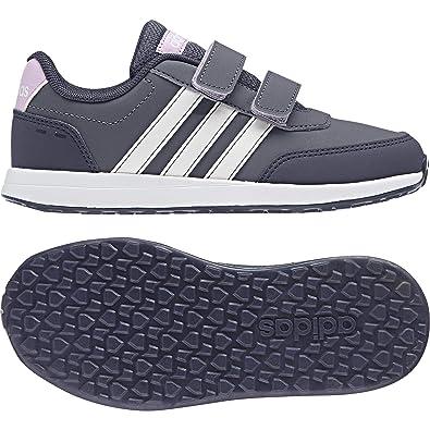 a5ade03d637 adidas Girls Kids Shoes Running VS Switch Fashion Trainers Gym School New  B76054 (EU 35