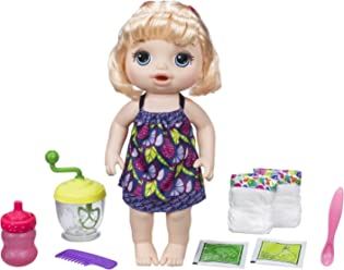 55ee954831 Baby Alive Sweet Spoonfuls Blonde Baby Doll Girl