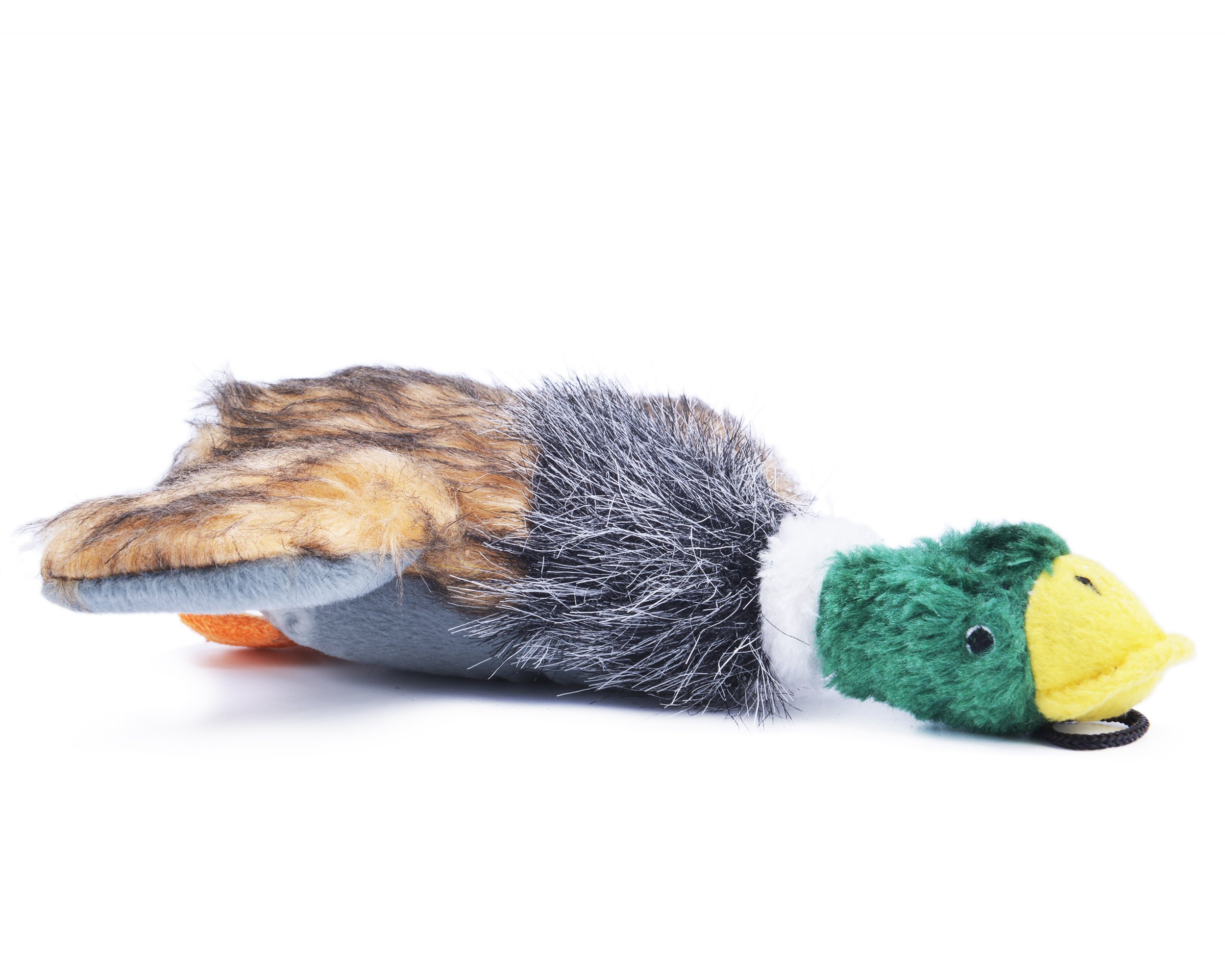 Plush Squeaky Puppy Dog Chew Toy for Tiny Small Chewers, Mallard 8
