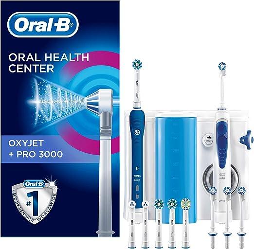 Oral-B PRO 3000 - Estación de cuidado bucal + Oxyjet Irrigador ...
