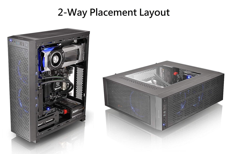 Clear USB PC Computer Clear Case Cooling Fan Cooler 4-LED Light 80*80*25mm 5V LJ