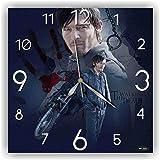The Walking Dead-Daryl Dixon 11'' 壁時計( ウォーキング・デッド - ダリル・ディクソン)あなたの友人のための最高の贈り物。あなたの家のためのオリジナルデザイン