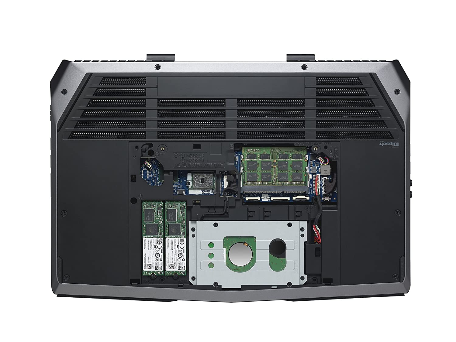 Alienware Aw15r2 6161slv 156 Inch Fhd Laptop 6th Dell M15x Power Button Circuit Board With Cable W 1 Year Generation Intel Core I7 16 Gb Ram Tb Hdd 256 Sata Ssdnvidia Geforce Gtx 970m
