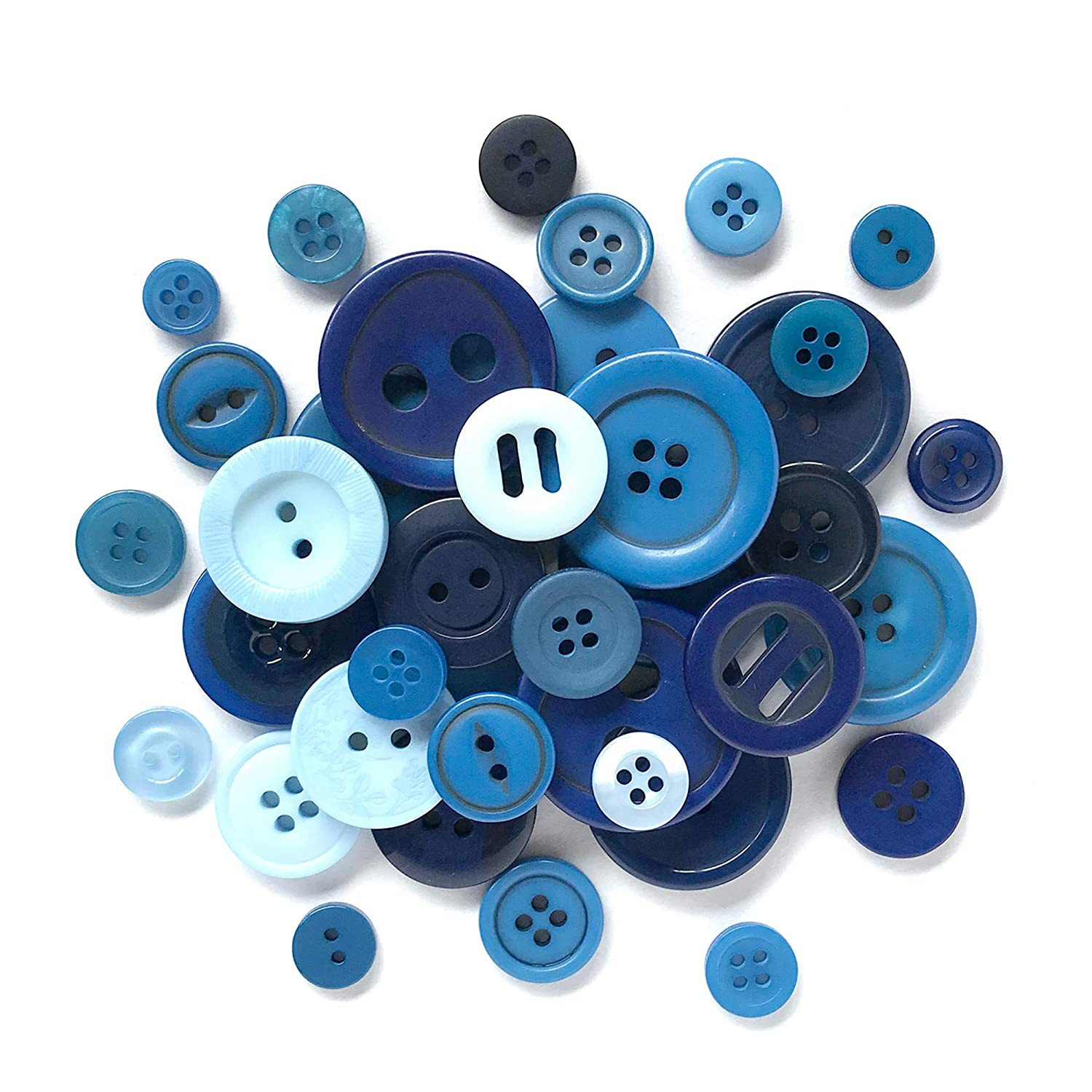 Turquoise Resin Round Buttons 20mm Sew On 4 Holes 20 Pcs Sewing Jewellery Making