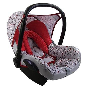 Bambiniwelt Ersatzbezug Für Maxi Cosi Cabriofix 6 Tlg Minky Mb 7 Bezug Für Babyschale Komplett Set Xx Baby