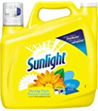 Sunlight Morning Fresh Hec Liquid Laundry Detergent, 96 Wash Loads, 155 Ounce