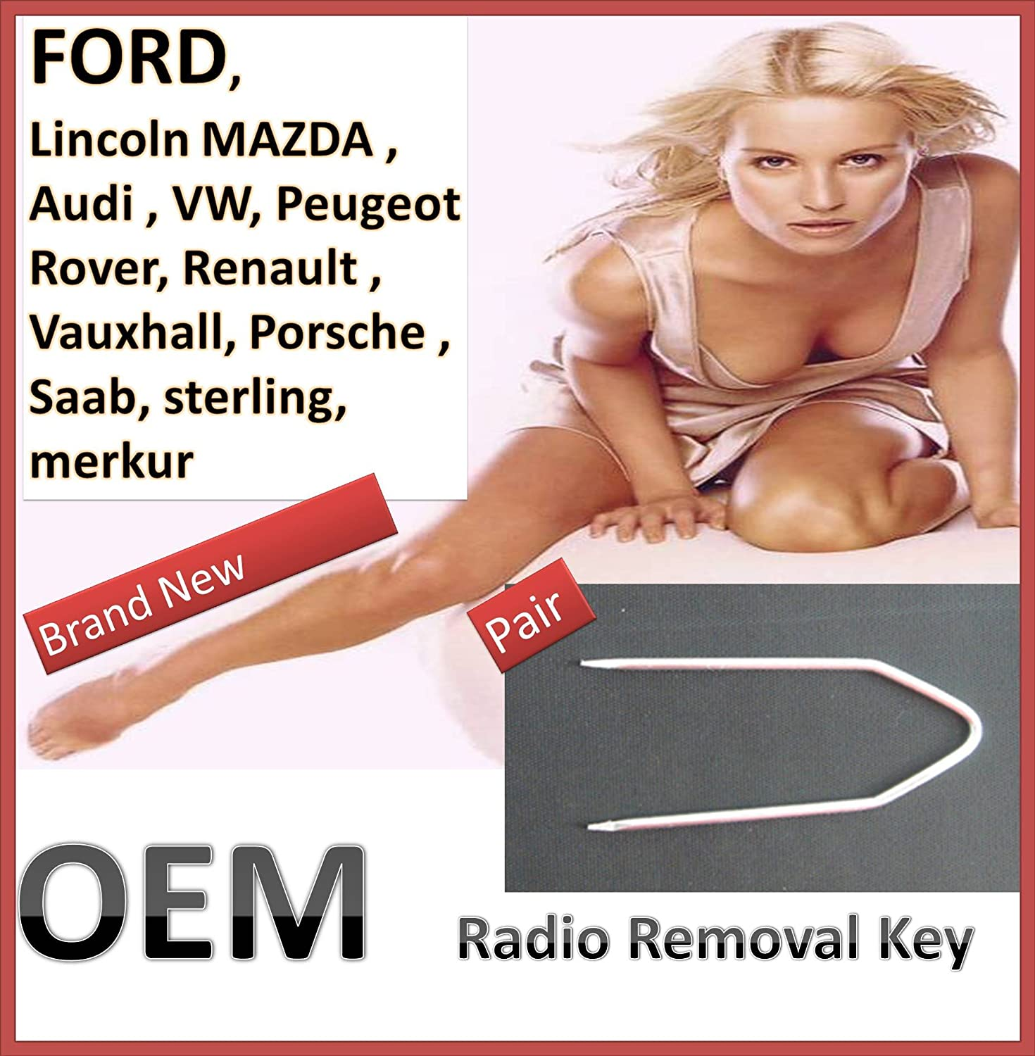 Factory Radio Removal Tool Set for Ford Vehicles