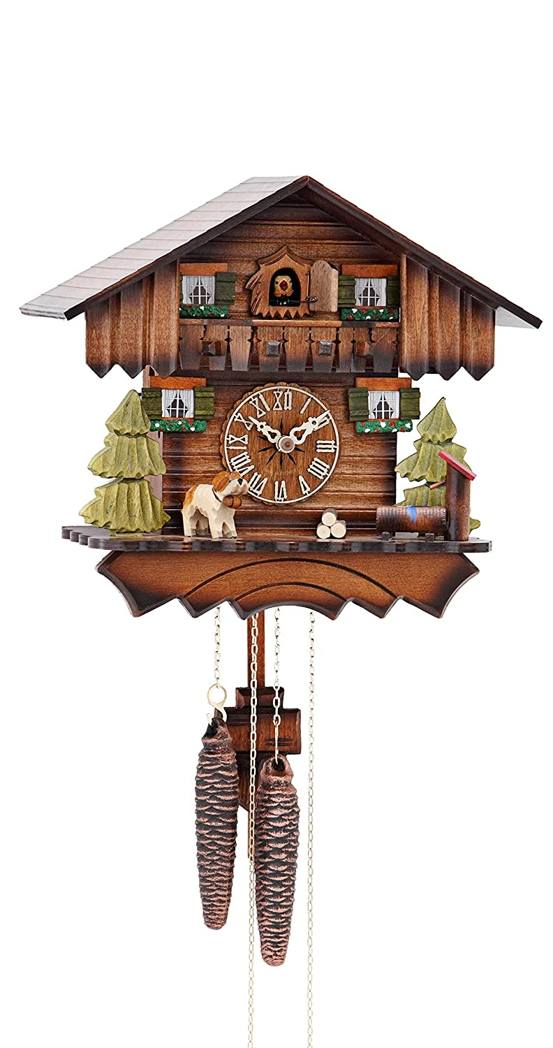 Cuckoo Clock Chalet House 1 day movement mygermanstore