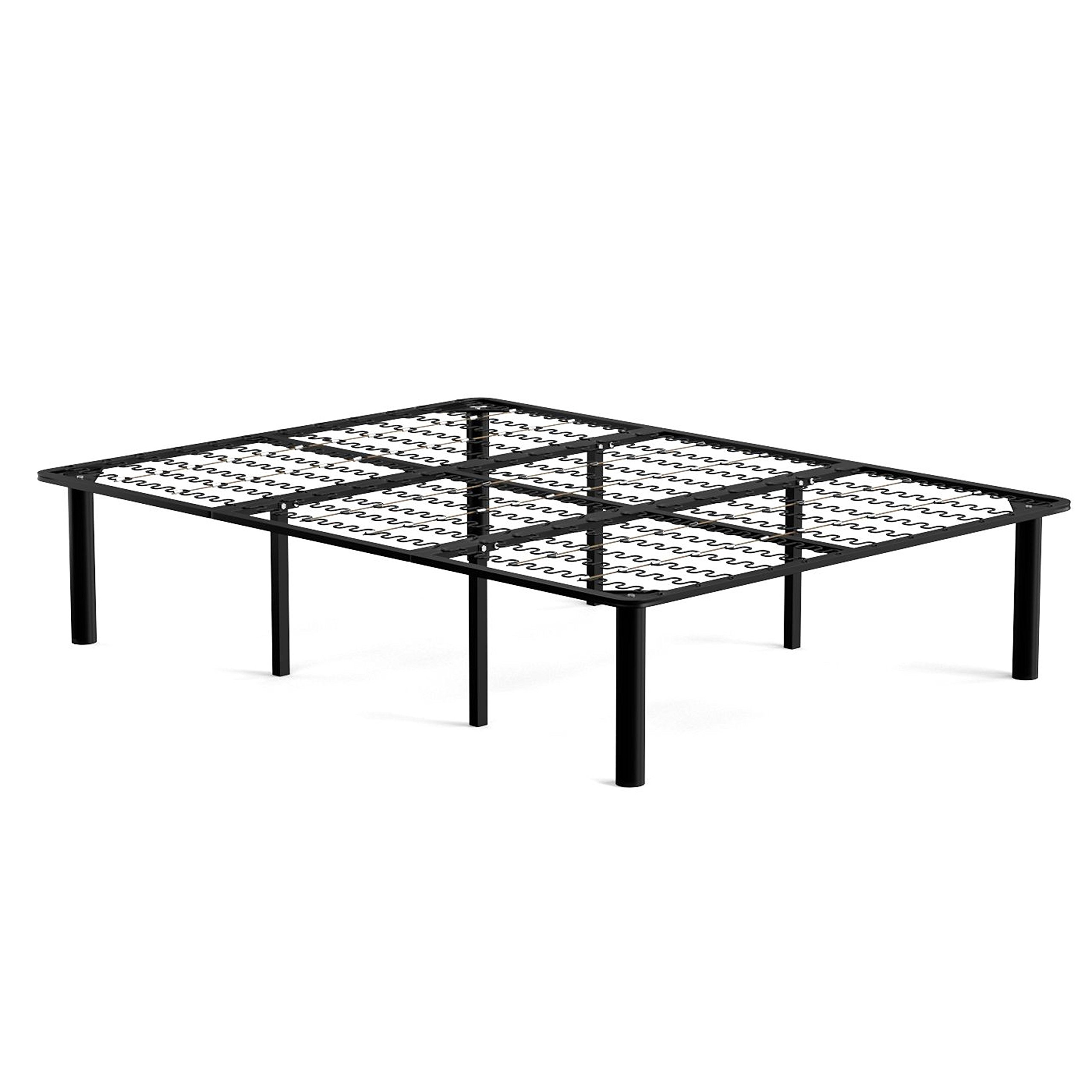 handy living 2 in 1 bed frame and box spring combination queen 810490010706 ebay. Black Bedroom Furniture Sets. Home Design Ideas