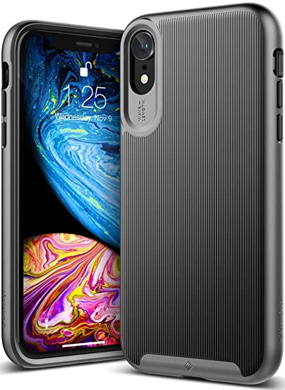 timeless design 02e89 63f09 Caseology Wavelength for iPhone XR Case (2018) - Stylish Grip Design - Black