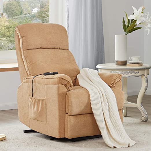 Lift Chair for Elderly Lift Chairs Power Reclining Chair Sofa Electric Recliner Chairs with Remote Control Soft Lounge