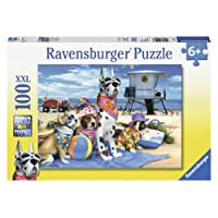Ravensburger No Dogs on The Beach Puzzle 100pc,Children's Puzzles