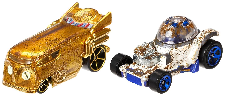 2 Pack #5 Mattel DXR00 Hot Wheels Star Wars Rogue One Character Car