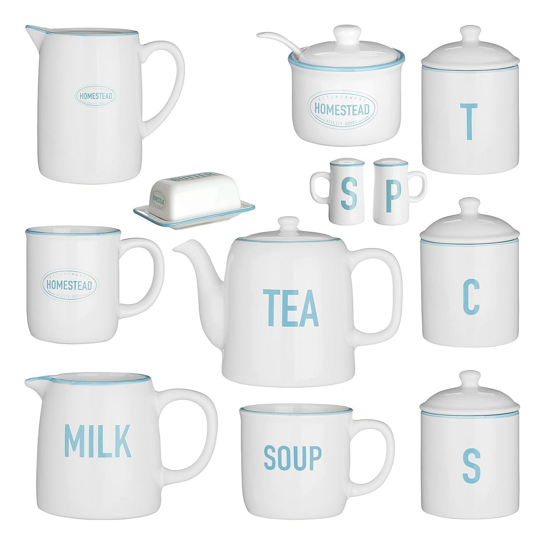 White 300 ml Premier Housewares Homestead Milk Jug