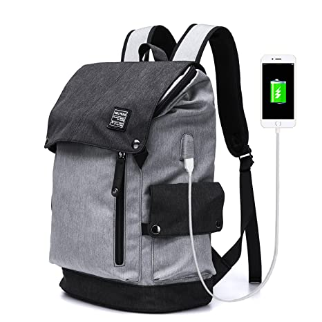 e5431f78463d YLLS Business Laptop Backpack for Men Women Anti Theft Tear Water Resistant