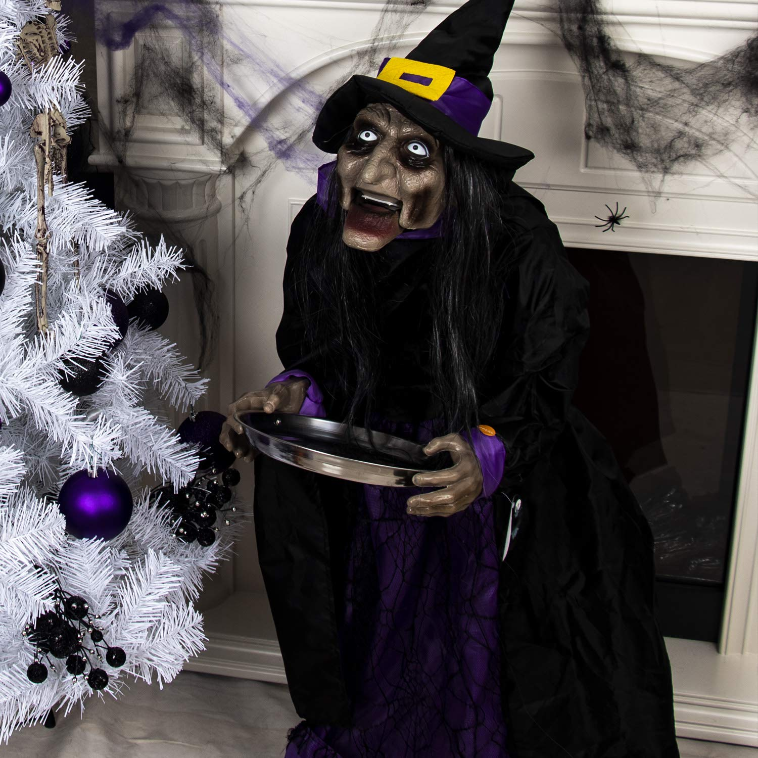 Halloween Decoration Outdoor Animatronic Witch Motion