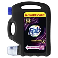 Fab Sublime Velvet, Laundry Liquid Detergent, 4L