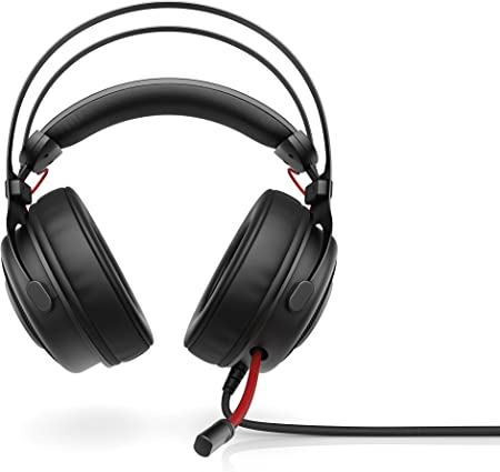 HP Omen 800 Gaming Headset with In Line Mic, 53 mm Drivers