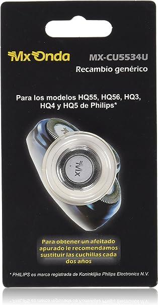 MX Onda Cabezal de Afeitado Genérico Mx Onda Blister - 17 gr ...