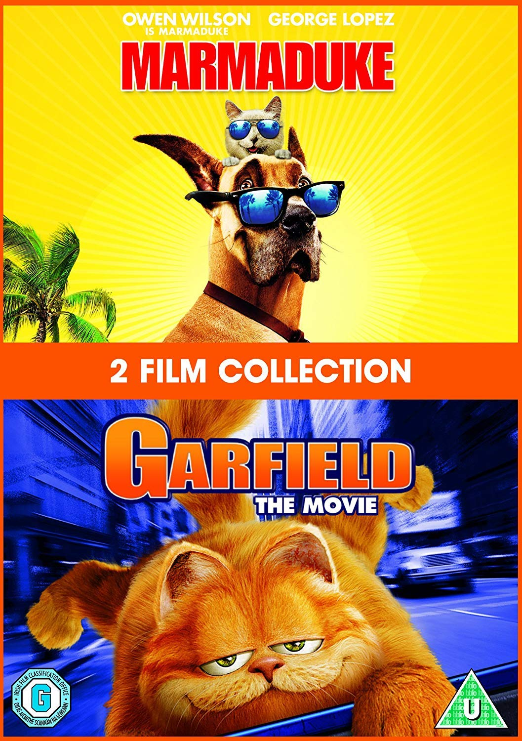 Marmaduke / Garfield: The Movie Double Pack DVD 2004 by Owen ...