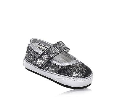 Guess , Chaussures Souples pour bébé (Fille) - Argenté - Argent, 18 ... 6221f2eaadc3