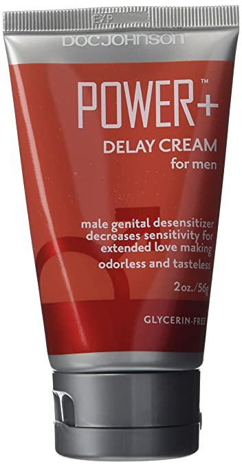 Doc Johnson Power Desensitizer Spray to last longer Cream for male