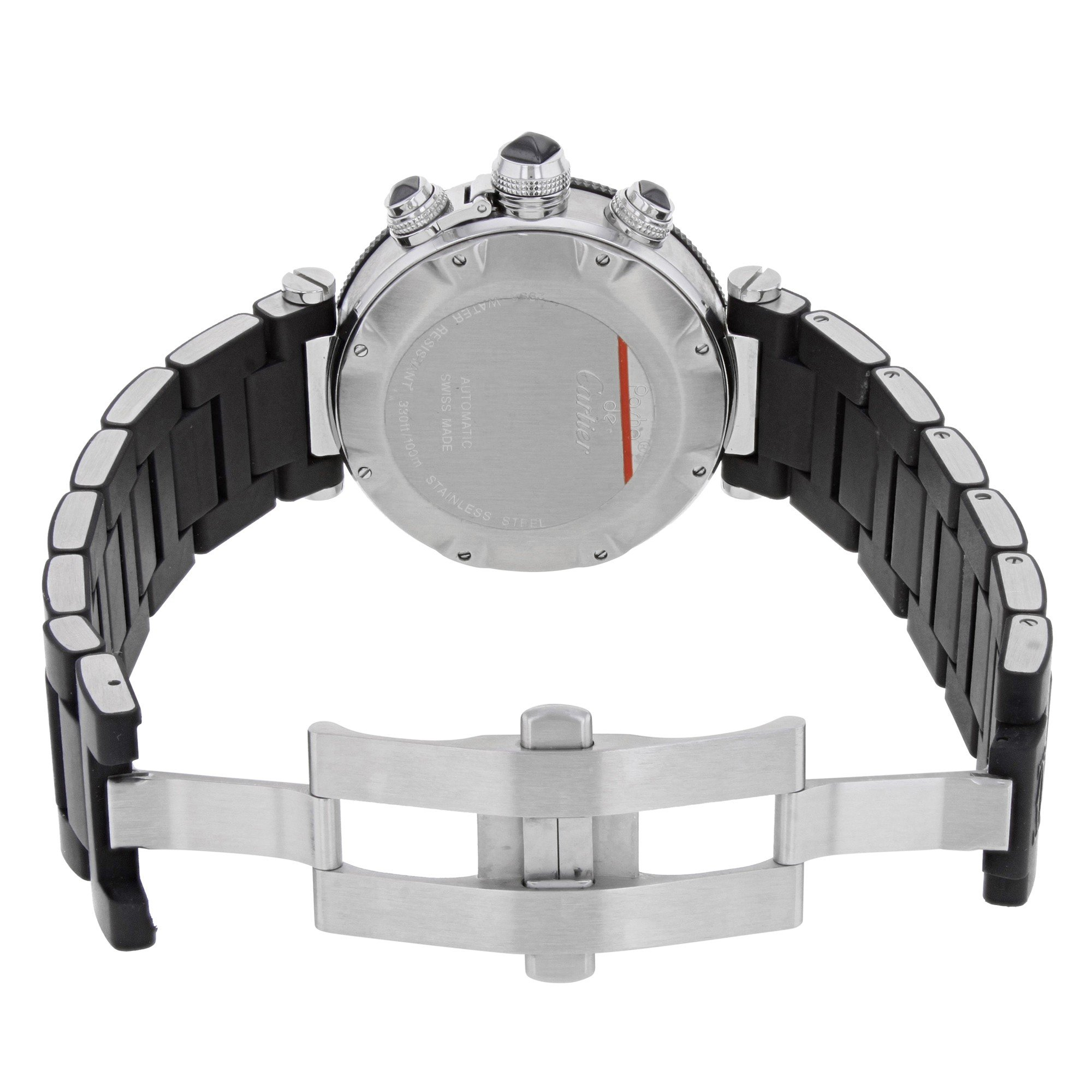 Cartier Pasha Seatimer W31088U2 Stainless Steel Automatic Men's Watch(Certified Pre-owned) by Cartier (Image #2)