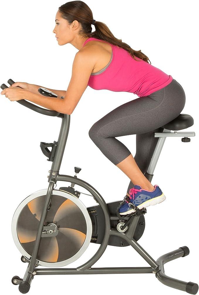 Fitness Reality S275 - Bicicleta de ejercicio para interiores con ...