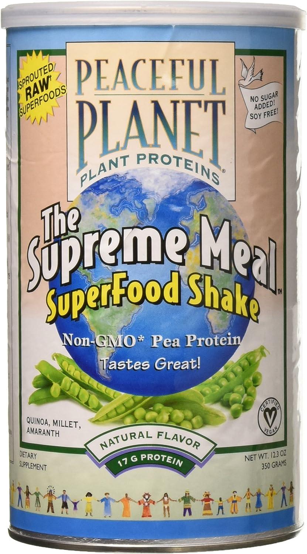 VegLife Supreme Meal Pea Protein Powder, Unflavored, 350 Gram